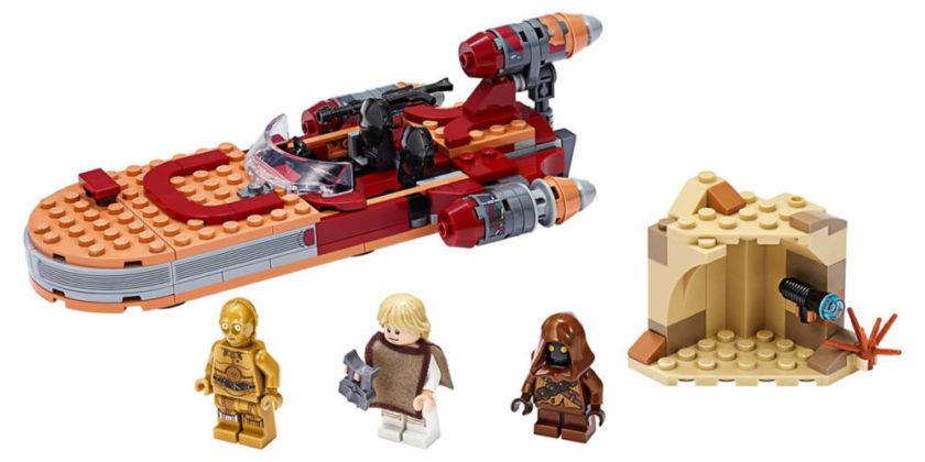 LEGO Star Wars 75271 Lukes Landspeeder