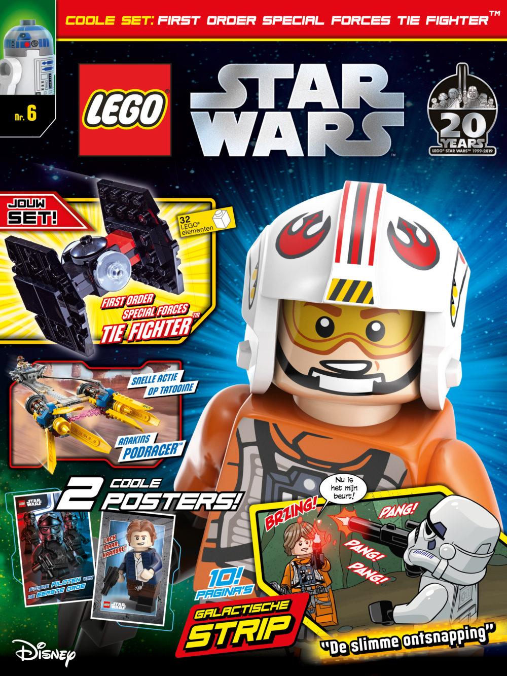 LEGO Star Wars Magazine 6 2019