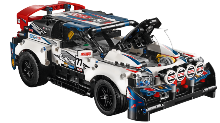 LEGO Technic 42109 App Controlled Top Gear Rally Car