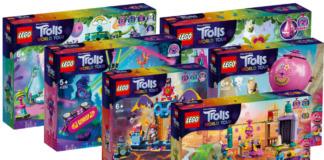 LEGO Trolls World Tour sets