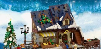 LEGO Winter Grocer
