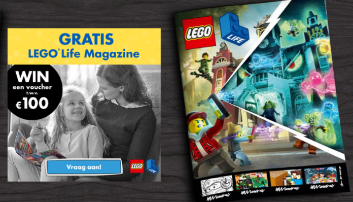 Waardebonnen LEGO Life Magazine