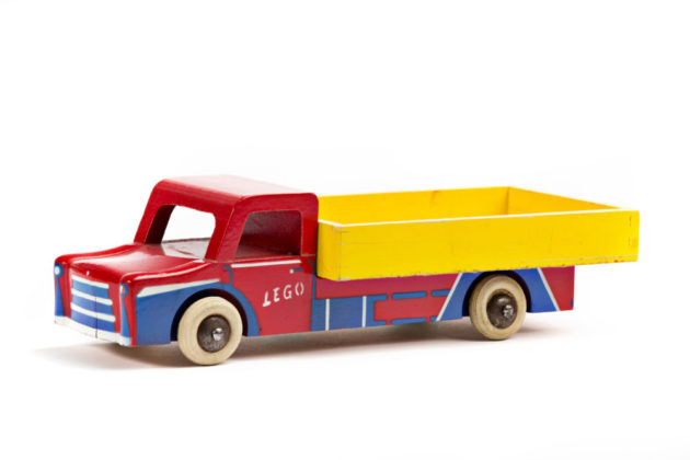 LEGO Wooden and Plastic Truck