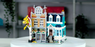 Designer Video LEGO 10270 Bookshop