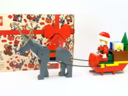 LEGO 4002018 Santa and Reindeer