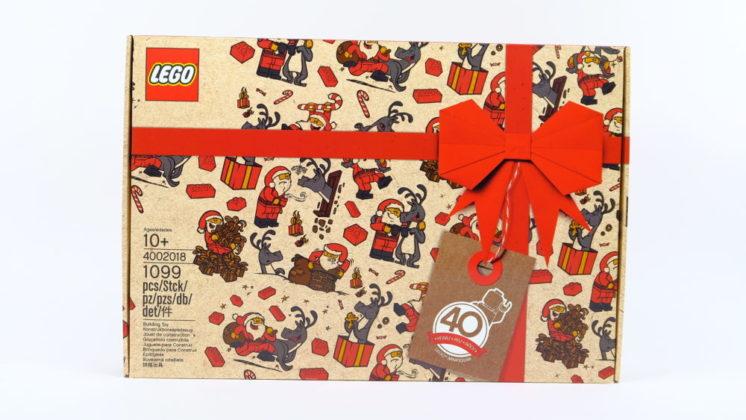 LEGO 4002018 Santa and Reindeer
