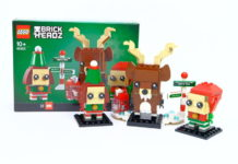 LEGO 40353 Reindeer, Elf and Elfie