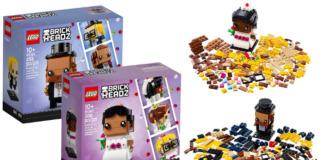 LEGO BrickHeadz Bride en Groom