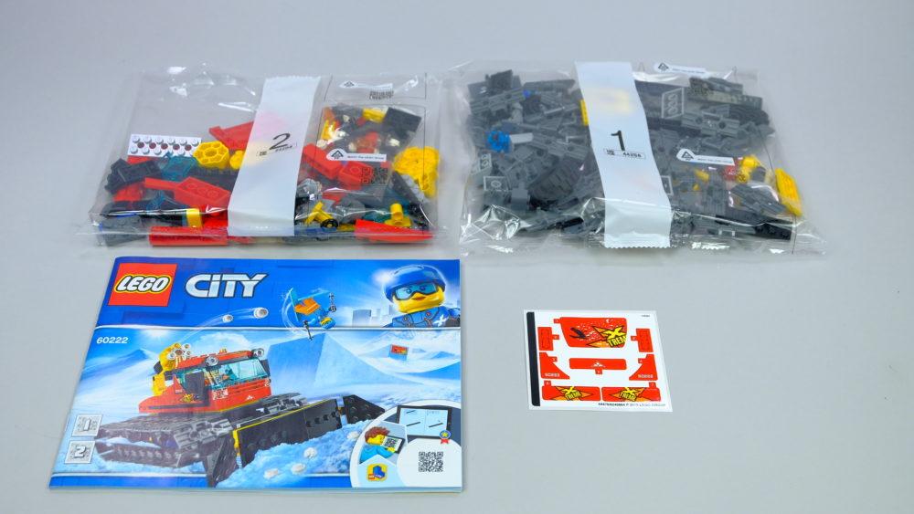 LEGO City 60222 Snow Groomer