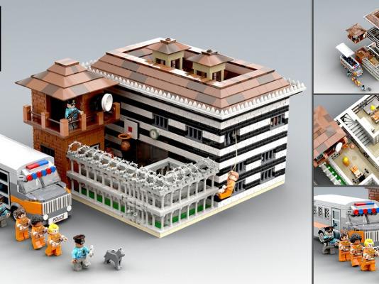 LEGO Ideas Maximum Security Prison