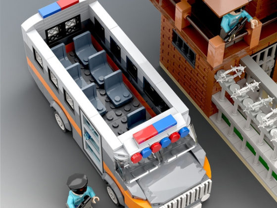 LEGO Ideas Maximum Security Prison