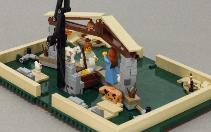 LEGO Nativity Pop-Up Book instructies