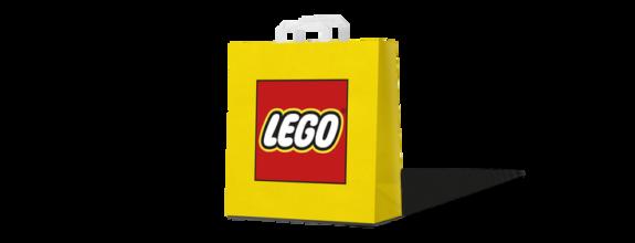 Plastic LEGO tassen verdwijnen