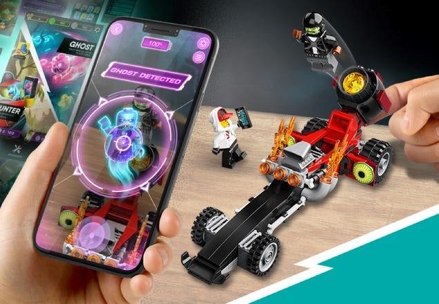 LEGO 40408 Hidden Side Drag Racer