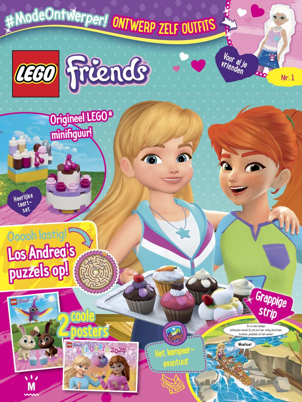 LEGO Friends Magazine Editie 1