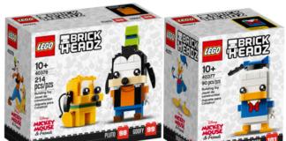 LEGO BrickHeadz Donald Duck en Pluto & Goofy