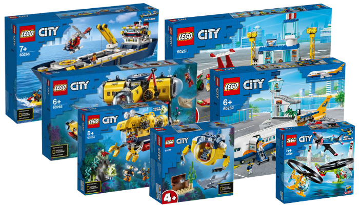 LEGO City zomer 2020 sets