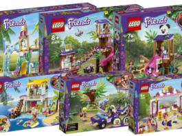 LEGO Friends zomer 2020 sets