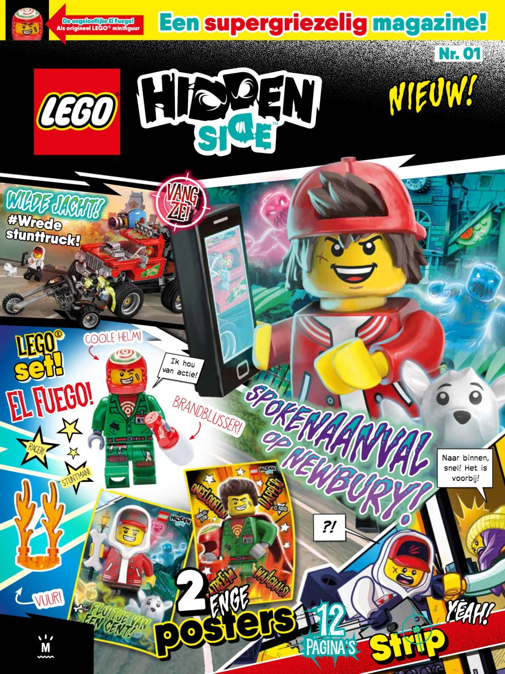 LEGO Hidden Side Magazine Editie 1