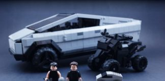LEGO Ideas Cybertruck