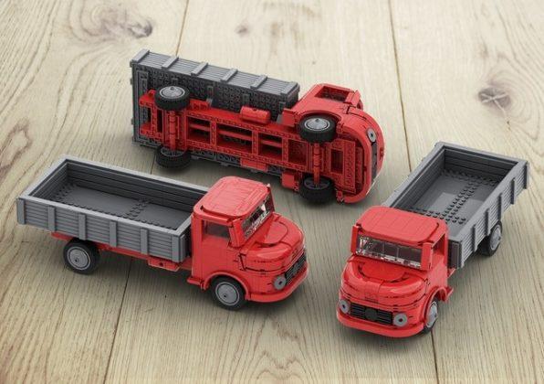 LEGO Ideas LEGO System H0 lorry
