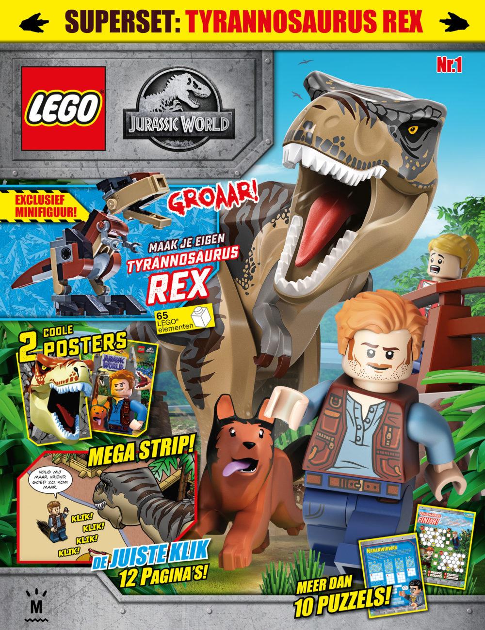 LEGO JURASSIC WORLD 01-2020