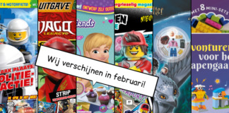 LEGO Magazines en boeken februari 2020