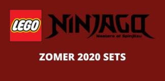 LEGO Ninjago zomer 2020 sets