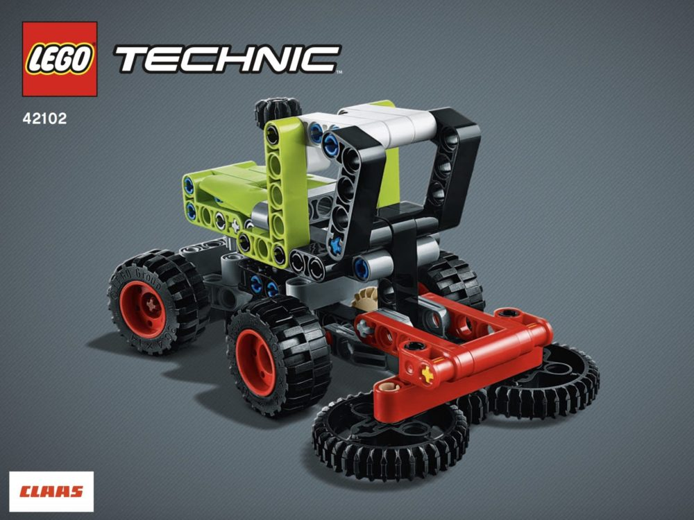 LEGO Technic 42102 Harvester