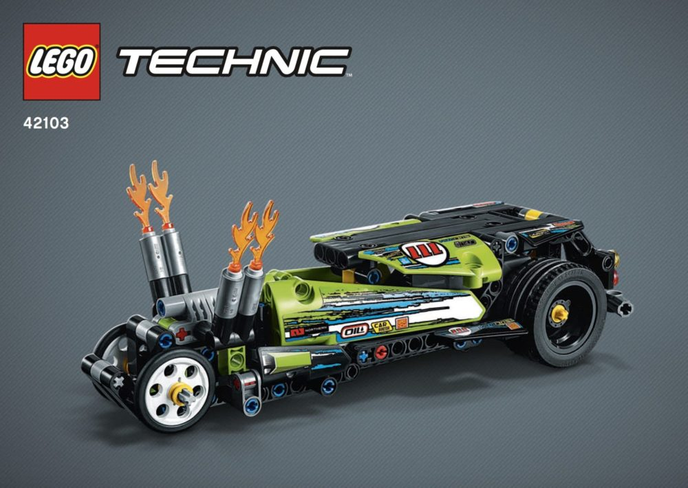 LEGO Technic 42103 Hot Rod