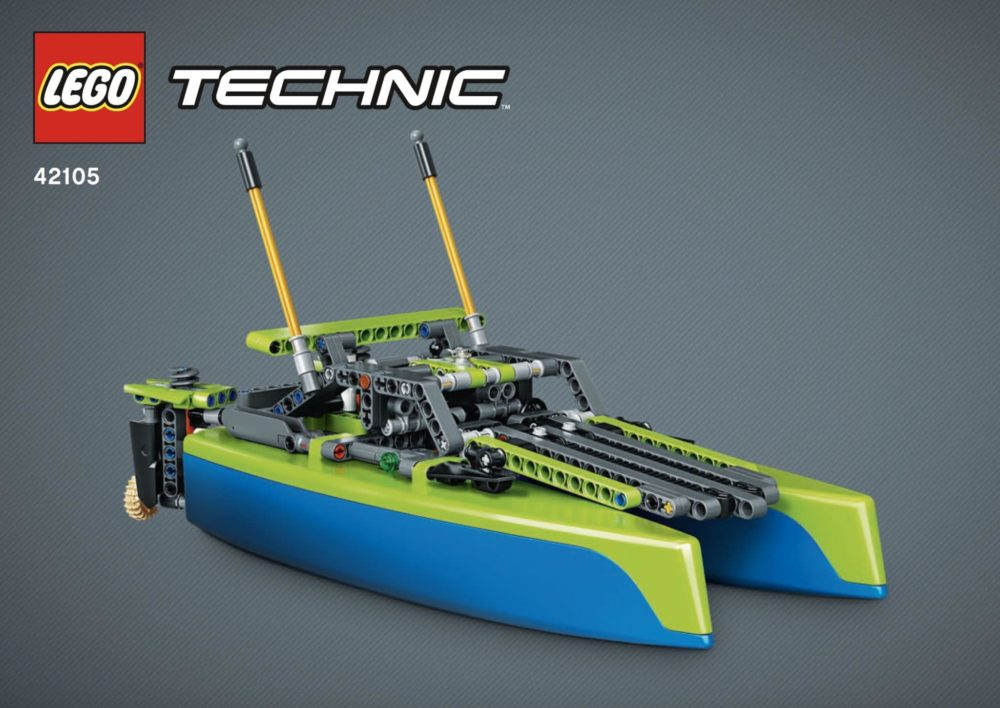LEGO Technic 42105 Racing Boat
