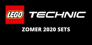 LEGO Technic zomer 2020 sets