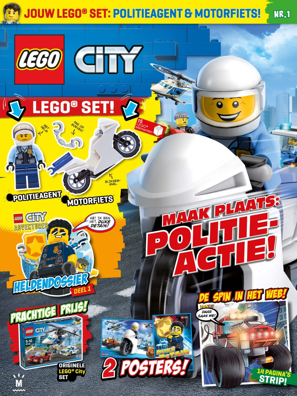 LEGO City Magazine Editie 1