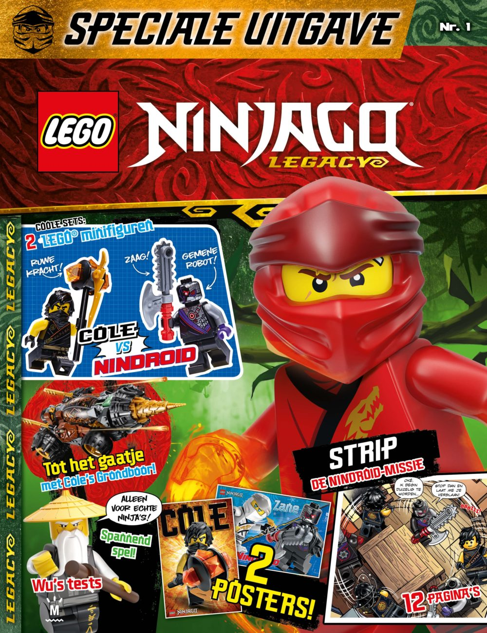 LEGO Ninjago Legacy Editie 1