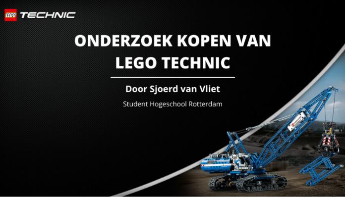 Onderzoek kopen van LEGO Technic