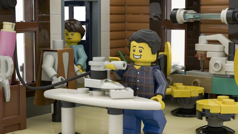 LEGO Ideas The Sewing Workshop