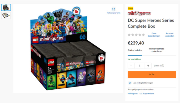 Dozen LEGO DC Super Heroes CMF
