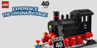 Gratis LEGO 40370 Iconic Steam Engine