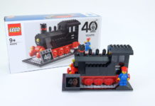 LEGO 40370 Iconic Steam Engine