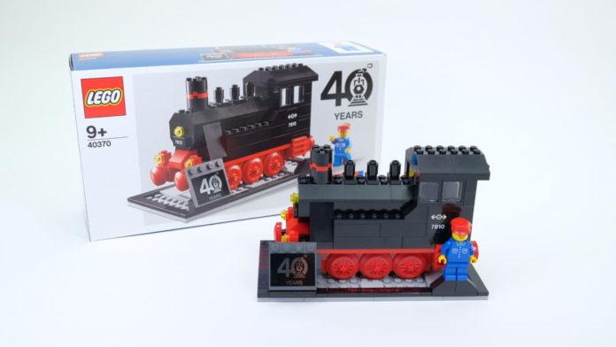 LEGO 40370 Iconic Steam Engine