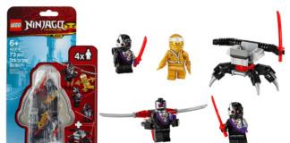 LEGO 40374 Golden Zane Minifigure Accessory set