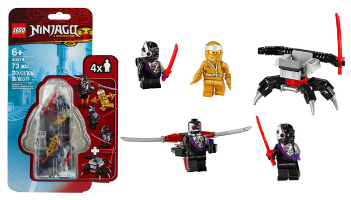 LEGO 40374 Golden Zane Minifigure Accessory set