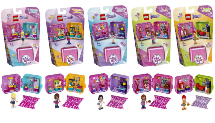 LEGO Friends Play Cube Series 2