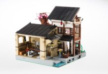 LEGO Ideas Carpentry, Smithy & Dojo