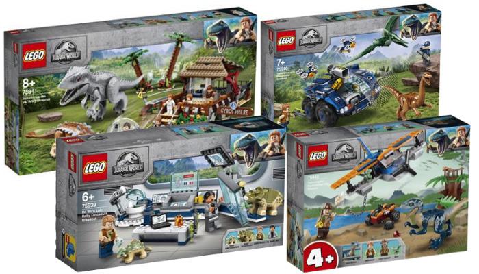 LEGO Jurassic World zomer 2020 sets