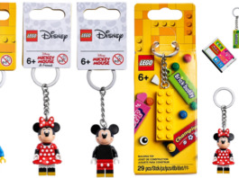 LEGO Mickey - LEGO Minnie - LEGO New York Key Chains