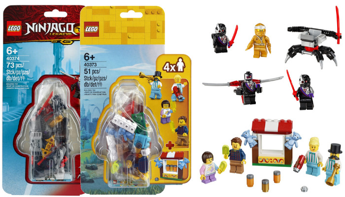 LEGO Minifigure Accessory Packs