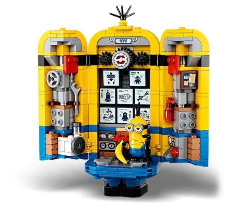 LEGO Minions 75551 Brick-Built Minions and Their Lair