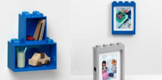 LEGO Picture Frames - LEGO Brick Shelves