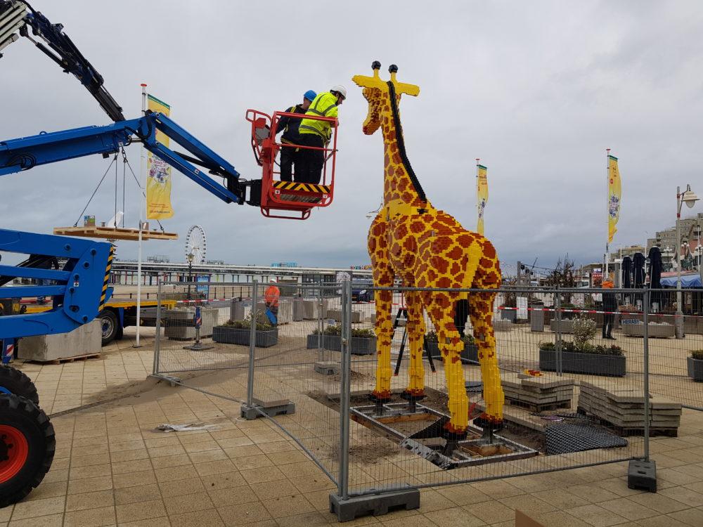LEGO giraf LEGOLAND Discovery Centre Scheveningen